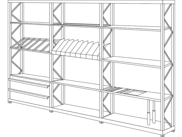 Shelves & Light racks